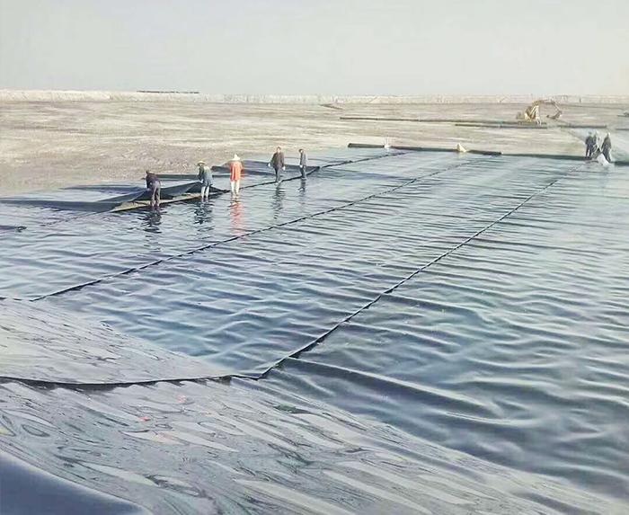 防水卷材施工案例