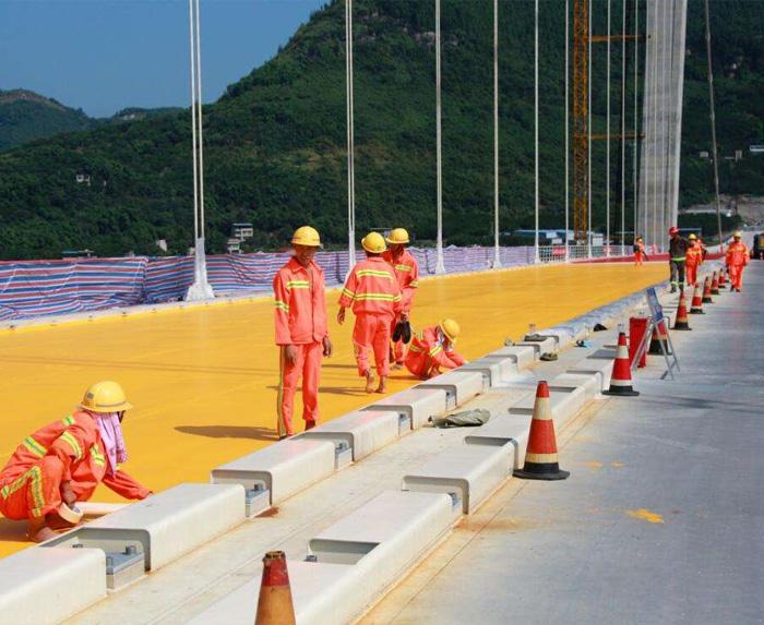 桥面防水施工案例